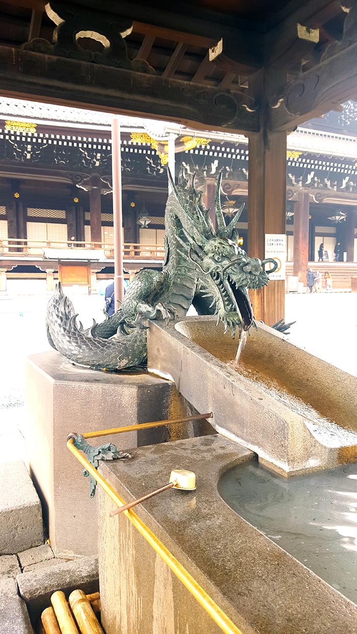 Kyoto_Higashi Honganji_water place