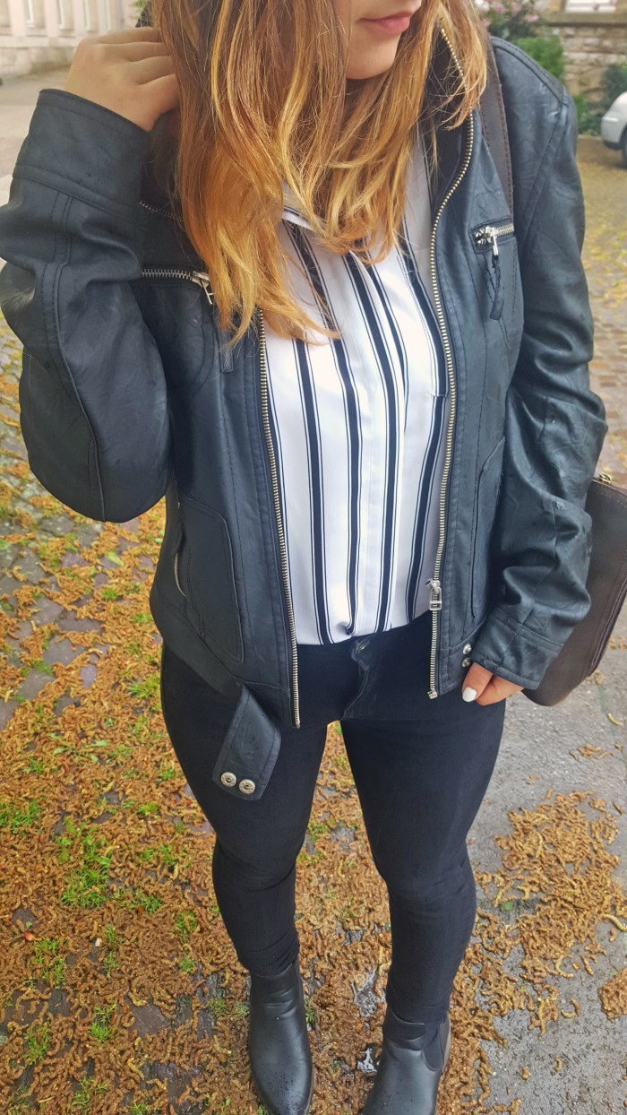 striped shirt outfit top
