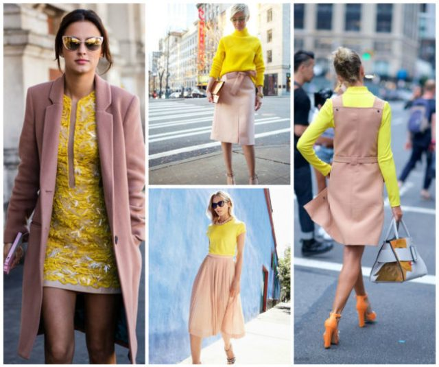 2016 Fall Trends Dusty Pink and Yellow