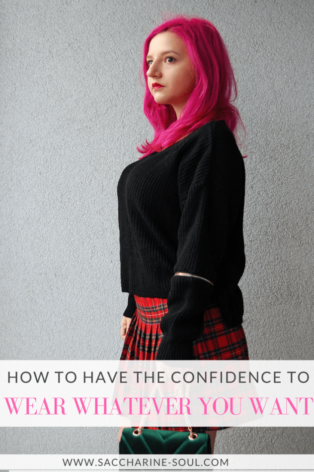 Ever wanted to have confidence to wear whatever you want? Check out these tips that will boost your confidence and help you achieve happiness!