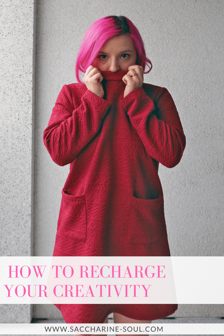 Do you feel stuck? Like you cannot create anything awesome? Then these 5 tips on how to recharge your creativity are for you!