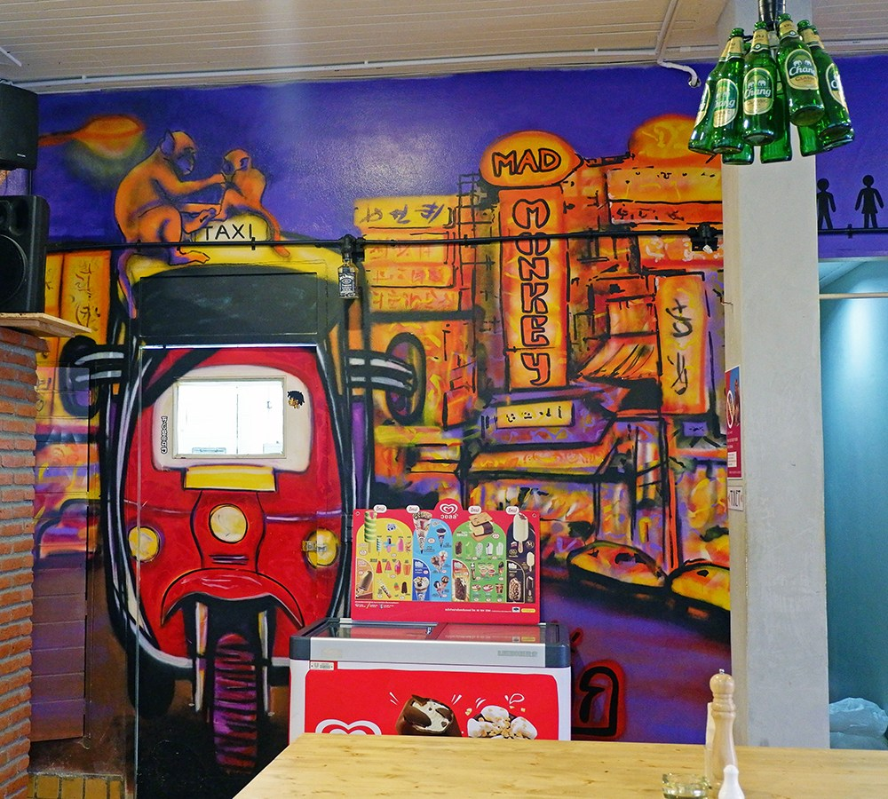 Where to stay in Bangkok: Mad Monkey Hostel