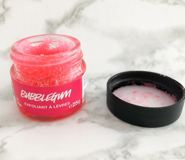 lush lip scrub bubble gum