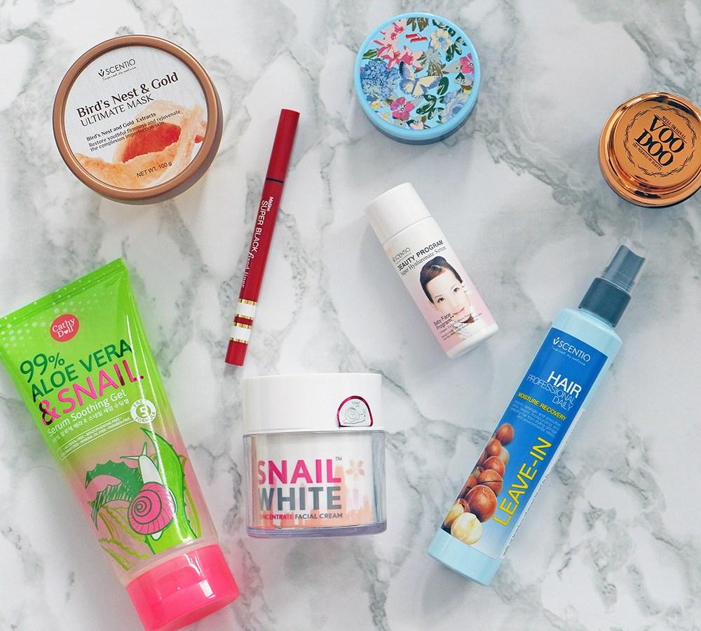 Thai Beauty Haul & Review