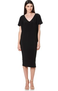 All Dresses - NAT BATWING REVERSIBLE STRETCHY JERSEY DRESS ...
