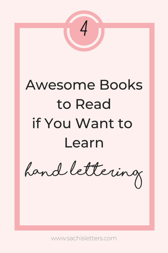 4 must read books to learn hand lettering