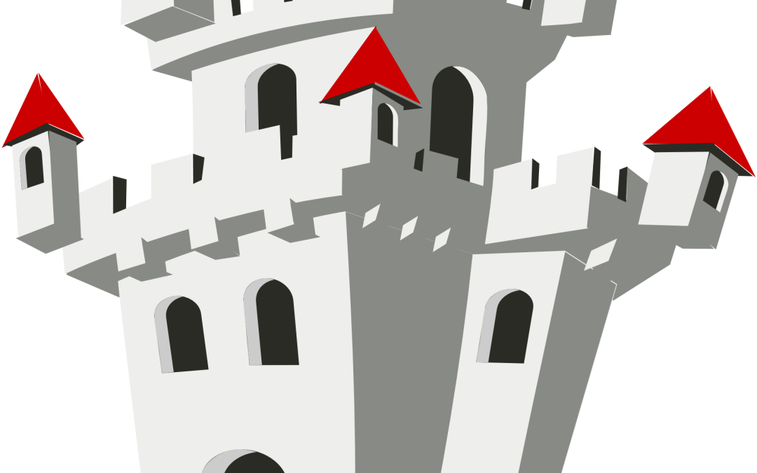Estos ejercicios resueltos de «castillos» con fracciones no son de arena y tampoco se los lleva el viento
