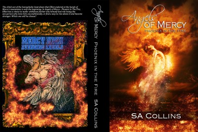 Angels of Mercy Phoenix in the Fire book cover - first draft