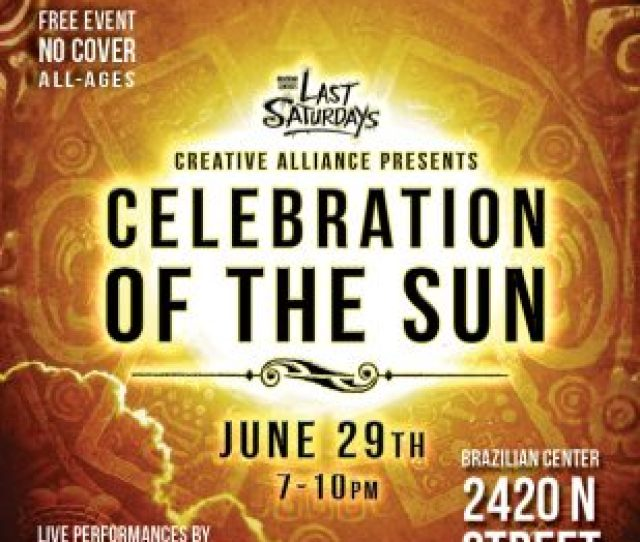 Last Saturdays Celebration Of The Sun