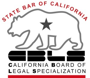 California Board of Legal Specialization Seal