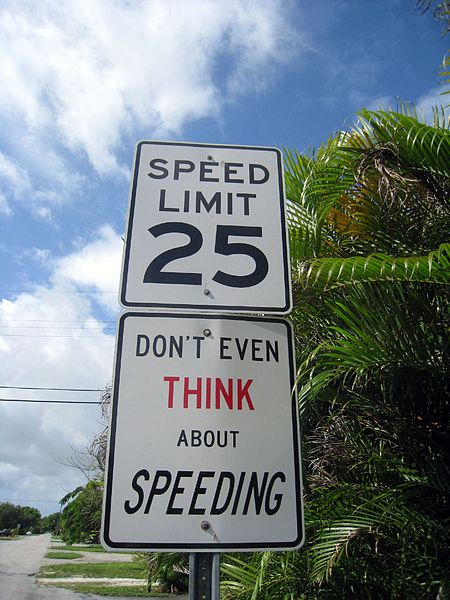 Marysville Speed Limit Increase Proposal