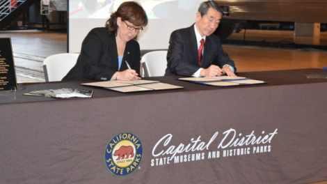 Railroad Museum enters historic 'sisterhood' agreement with Japan's Railway Museum