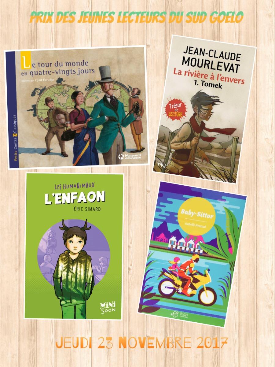 Le prix des jeunes lecteurs du Sud-Goëlo