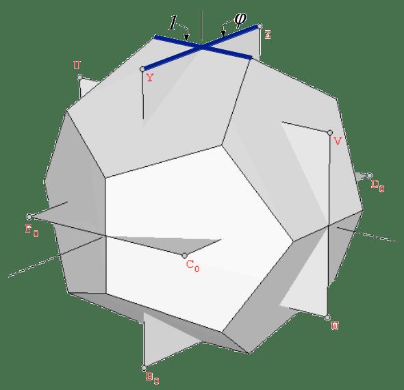 Rhombic Triacontahedron Coordinates