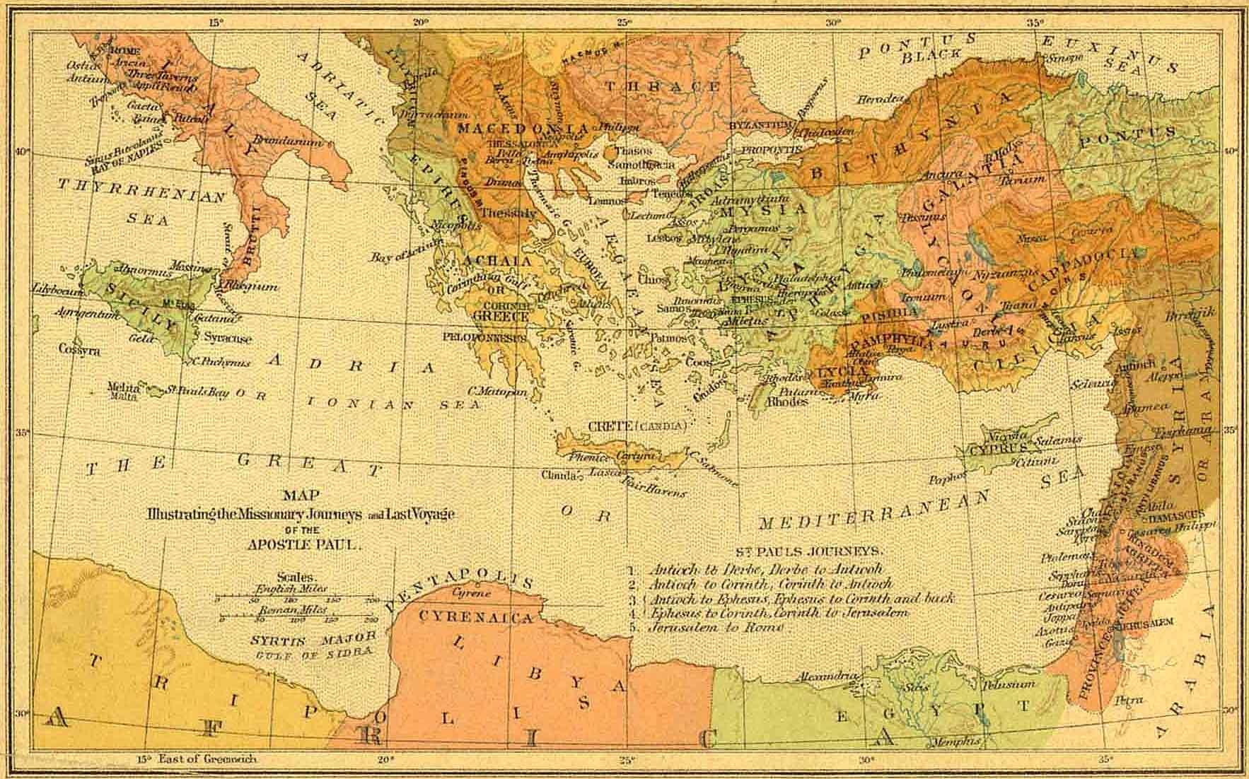 Bible Maps Bible Maps