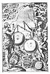 PLATE XXXII. (Frontispiece to <i>Almagestum Novum</i>; Ioannes Riccioli, 1561)