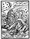 A SALAMANDER, ACCORDING TO PARACELSUS.