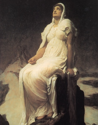 Lord Frederick Leighton, Spirit of the Summit [19th Cent.] (Public Domain Image)