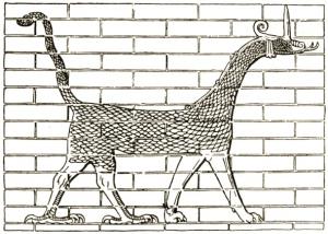 The Dragon on Ishtar's Gate