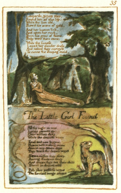 "Illustration from William Blake's ""Songs of Experience"""