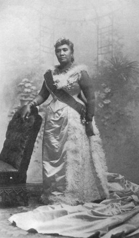 Queen Liliuokalani, Public Domain Image (Click to Enlage)