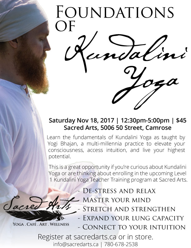 Foundations of Kundalini Yoga Nov 18 2017