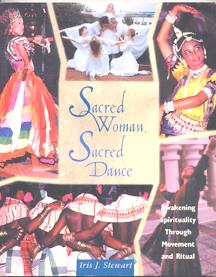 SACRED WOMAN SACRED DANCE BOOK COVER