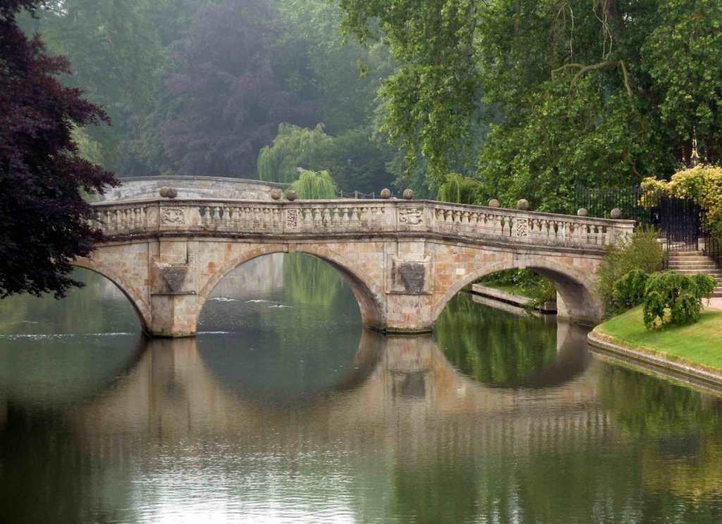 Clare Bridge, Cambridge. Image: CC Nigel Brown via Flickr