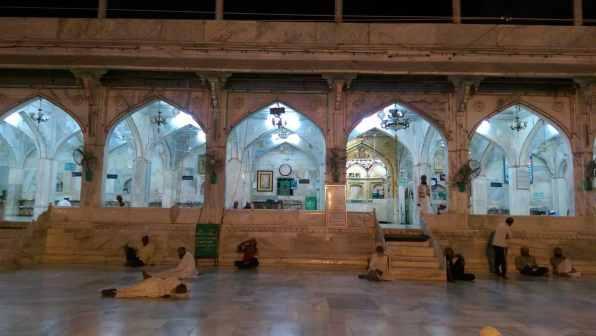 Dargah mosque courtyard