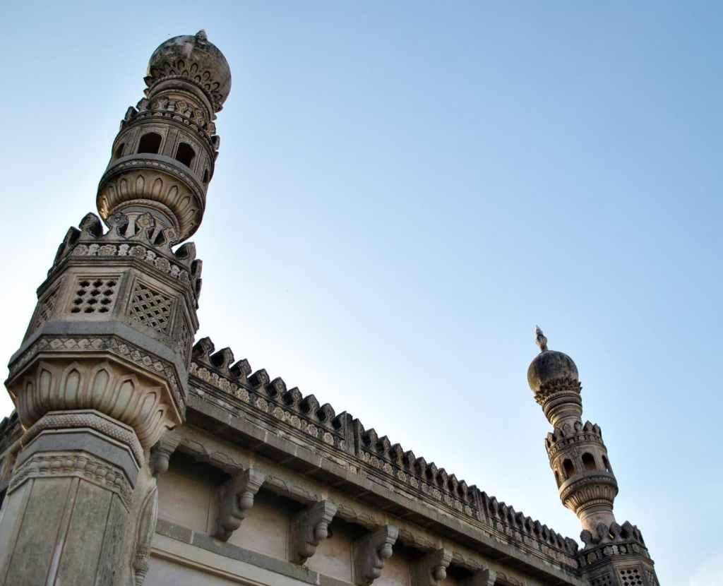 The Mosque of Ibrahim in Golkanda Fort