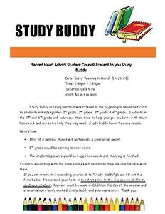 Study Buddy March Permission Slip_Page_1