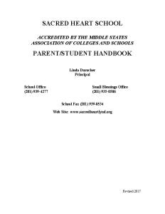 Parent-StudentHandbook 2017