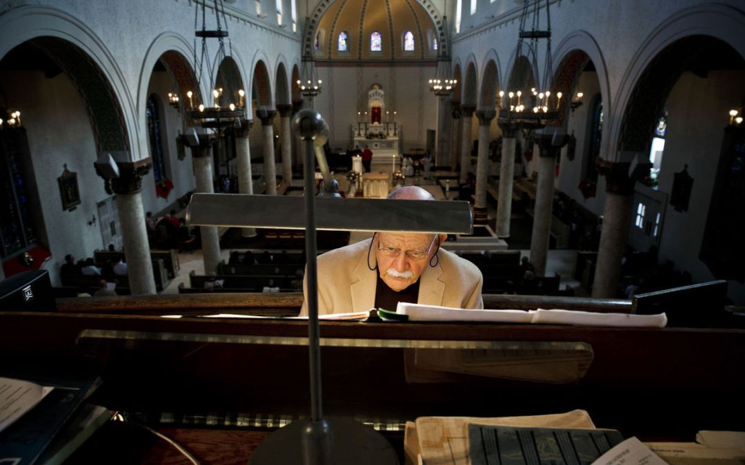 Virginian Pilot Article On Jim Gallatin & Sacred Heart's Organ