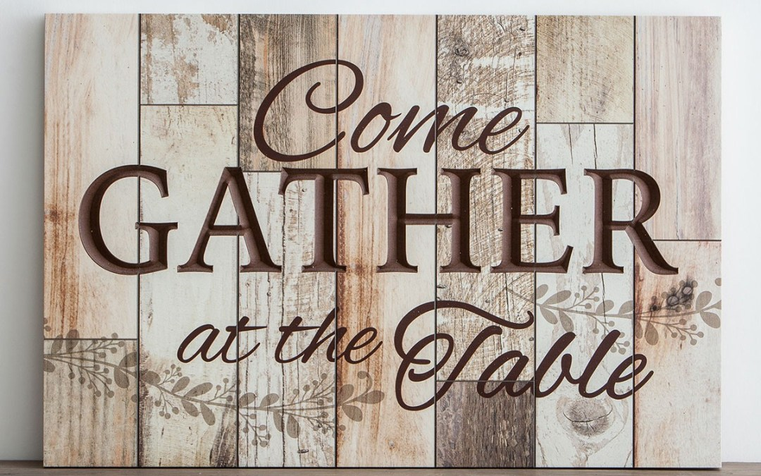 The Gathering at the Table – Adult Formation Committee
