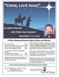 SHRH-flyer-Advent-Retreat-2014