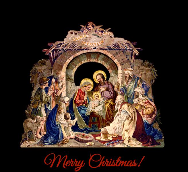 merry christmas sacred heart