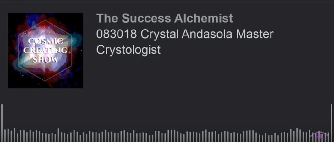 Crystal Andasola Master Crystologist