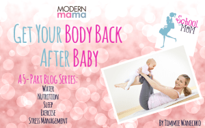 Body Back Modern Mama Blog Series by Timmie Wanechko