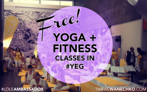 Free Yoga and Fitness Classes in Edmonton - Timmie Wanechko Edmonton Reiki