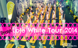 Lole White Tour Recap - Art Gallery of Alberta, Edmonton, AB 2014