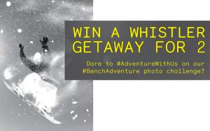 Bench Whistler Getaway Instagram Contest