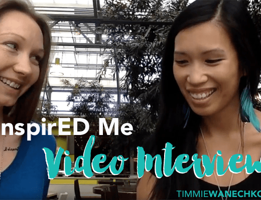 InspirED Me: Interview with Timmie Wanechko and Caroline Stewart