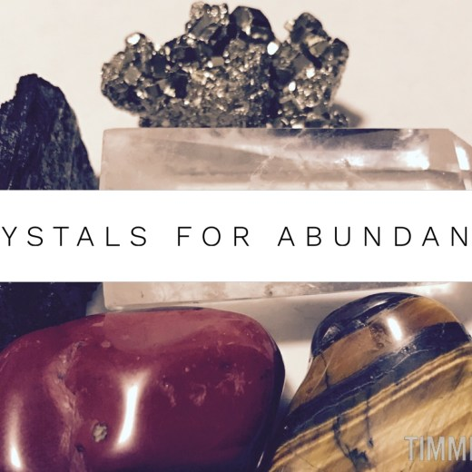 Crystals for Abundance by Timmie Horvath Policarpio Wanechko Aromatherapist Edmonton Reiki Training Crystal Healing Certification