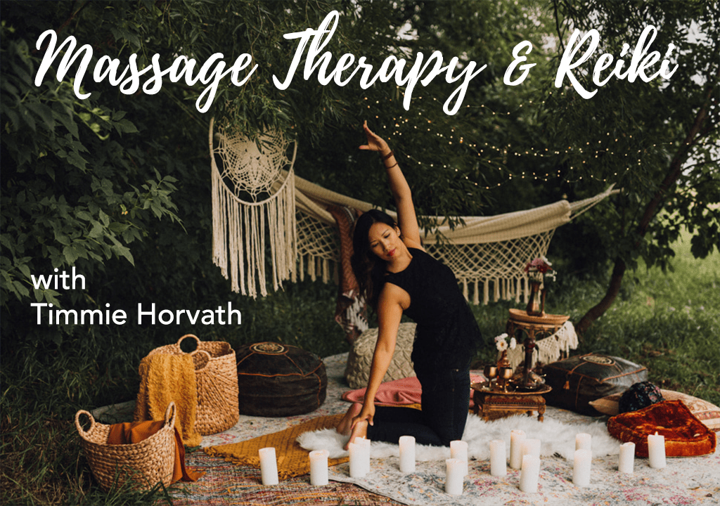 Timmie Horvath RMT Massage Therapist & Reiki Master Teacher in St. Albert, AB | Offering Reiki, Massage Therapy, and Wellness Consultations. We offer direct billing!
