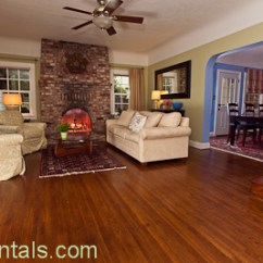 Formal Living Room With Brick Fireplace Paint Colors For Brown Trim 2716 6th Ave Curtis Park Sacrentals Com 916 454 6000 Adjoining Dining