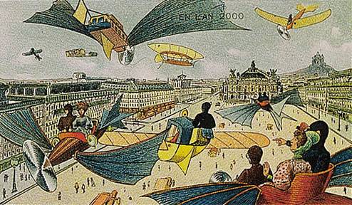 future21 - World in 2000 as Predicted in 1910 by French Artist Villemard