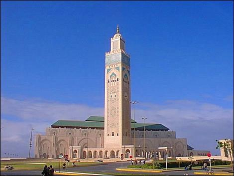 Hassan II Mosque at Casablanca