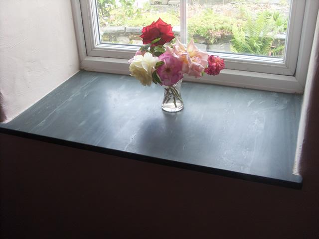 Benches window sills  fascias  Saddleback Slate