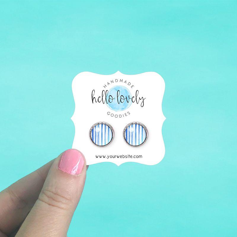 Square Bracket Jewelry Cards