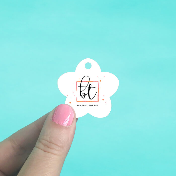 Flower Hang Tags